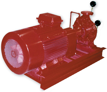 Patterson Pump Ireland Limited::End Suction Fire Pump